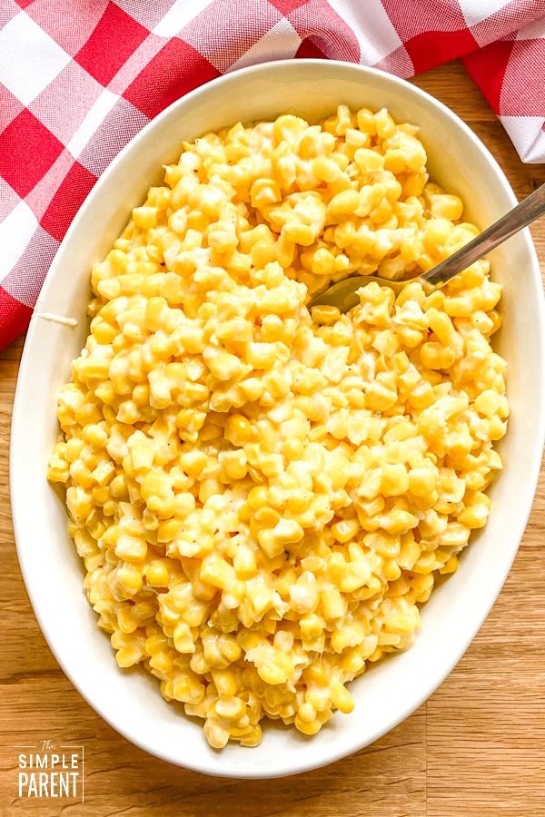 Parmesan Garlic Butter Corn