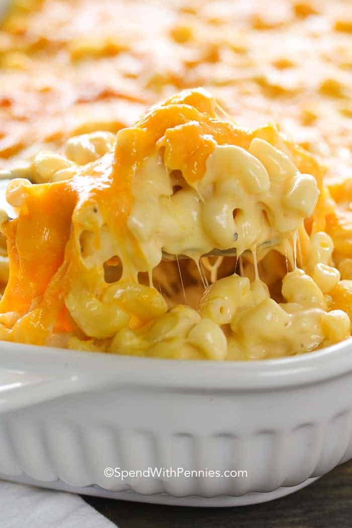 Best Thanksgiving side dishes: Creamy Macaroni & Cheese Casserole