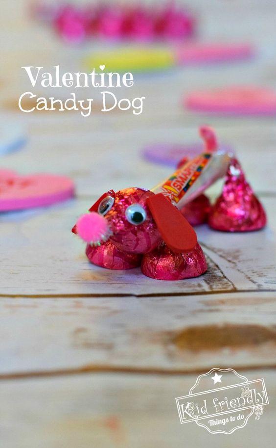 Valentine Candy Dog For Kids