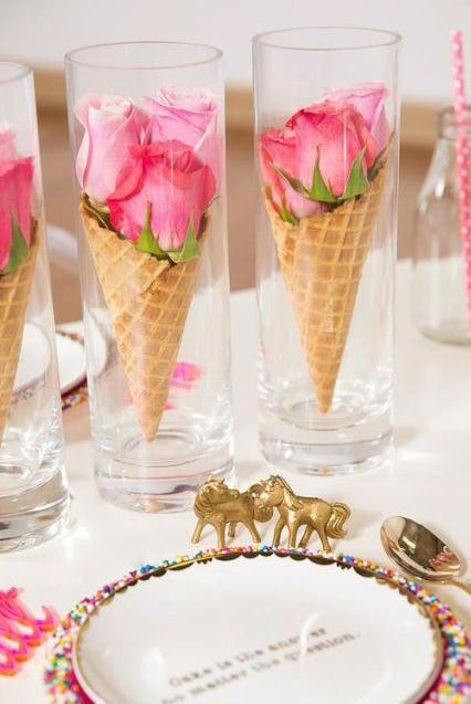 Easy DIY Valentine's Day decor ideas and Valentine's decorations with roses