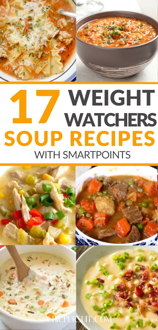 15 Quick & Easy Weight Watchers Soup Recipes With Smartpoints