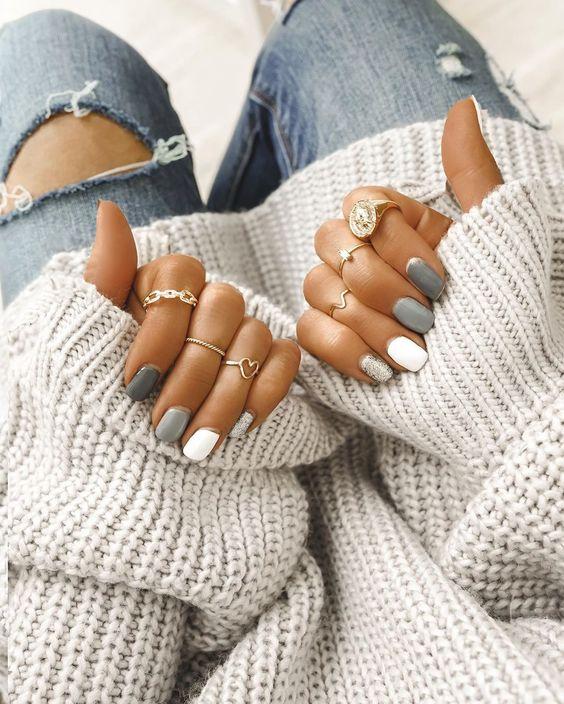 50+ Gorgeous Winter Nails & Nail Art Designs That You'll Love