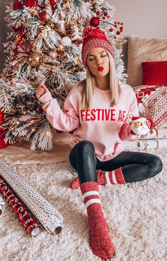 Casual Christmas outfits