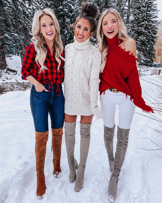 Cute casual Christmas outfit ideas