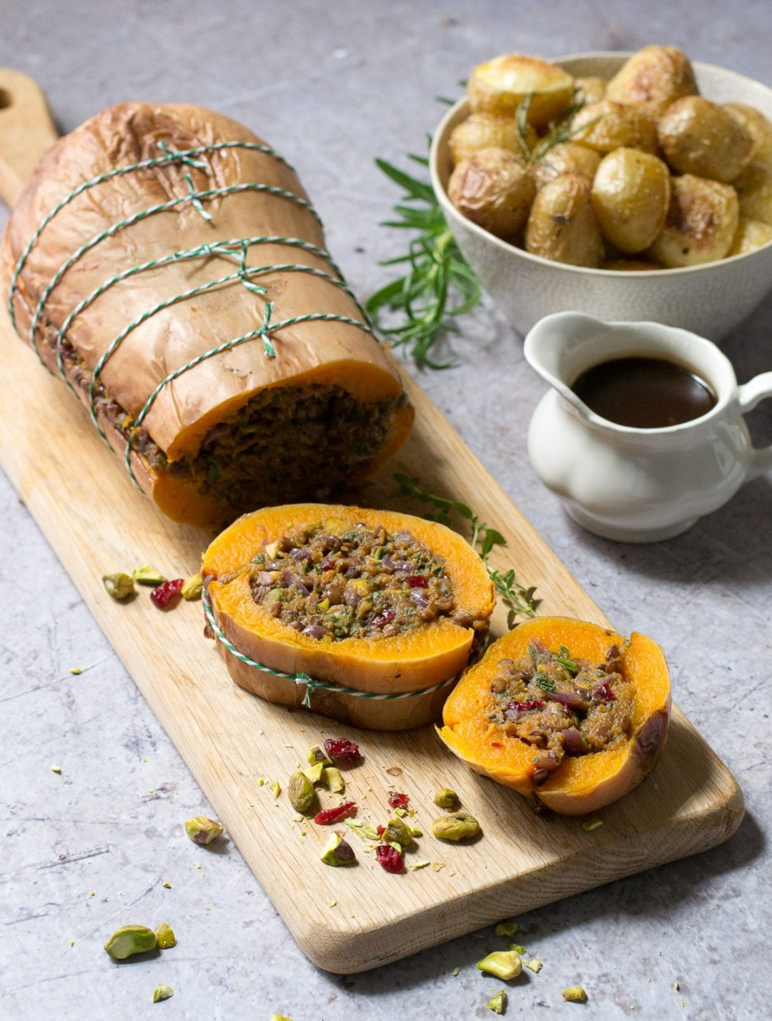 Keto Thanksgiving recipes with butternut roast