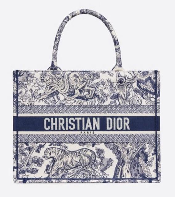 Best designer bags for laptops: Dior Book Tote