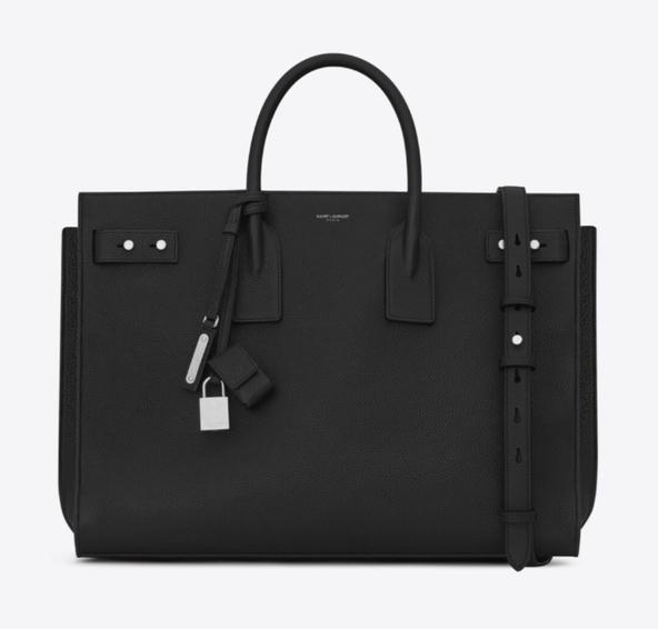 Best designer bags for laptops: Saint Laurent Sac De Jour
