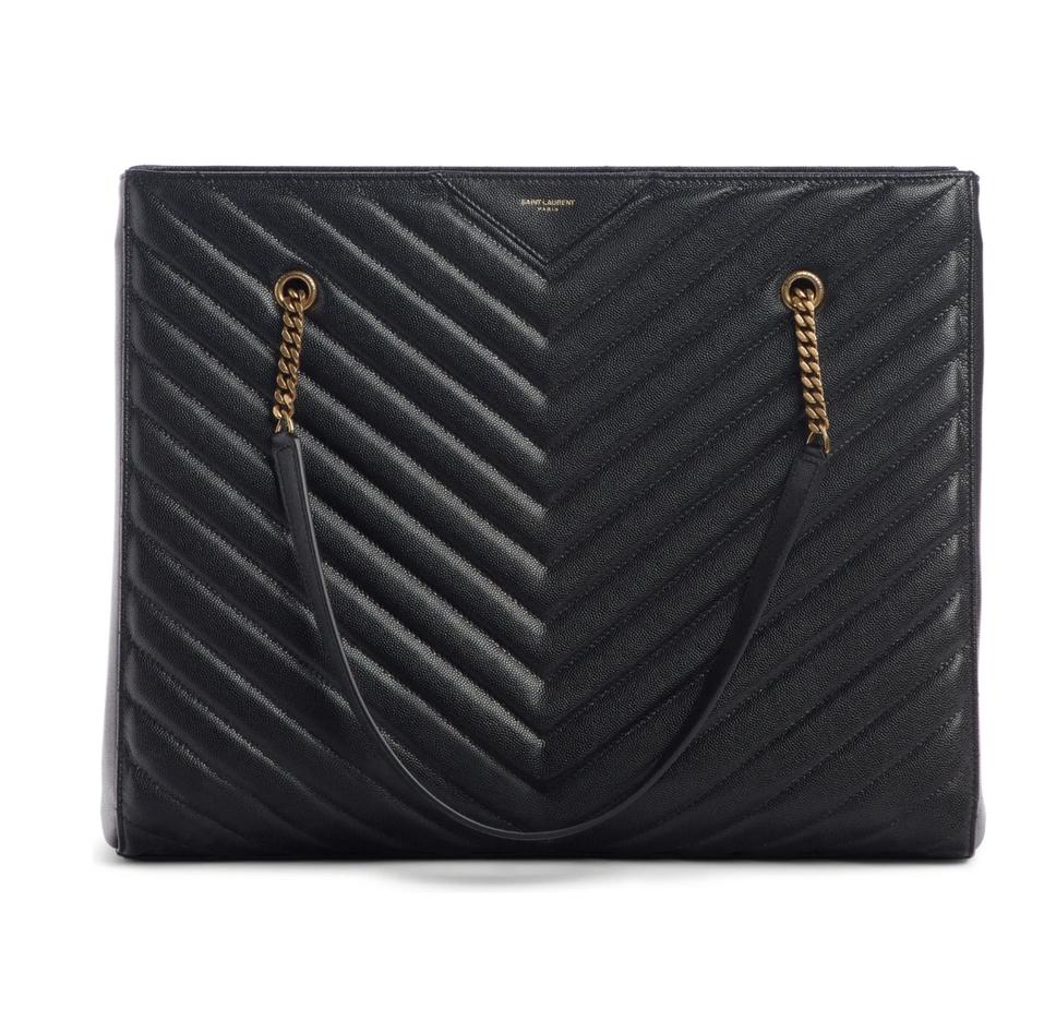 Best designer bags for laptops: Black YSL Tribeca Tote