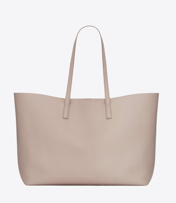 Best office bags: beige YSL shopping tote