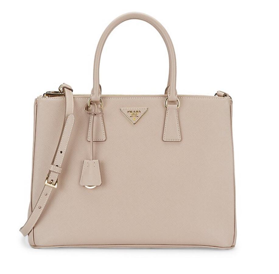 Best designer bags for laptops: Prada Galleria