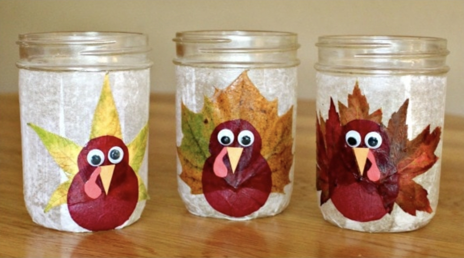 Turkey Luminaries for Thanksgiving