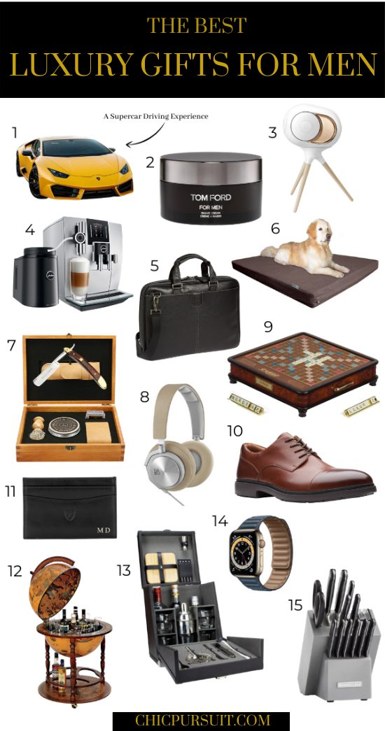 The best luxury gifts for men who have everything