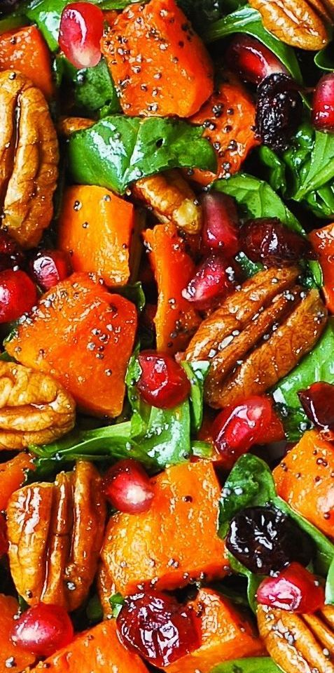 Best Thanksgiving recipes: Butternut Squash and Spinach Salad