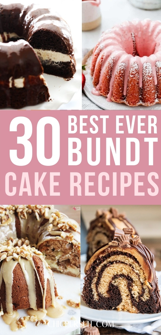 30 Best Ever Bundt Cake Recipes Anyone Can Make At Home