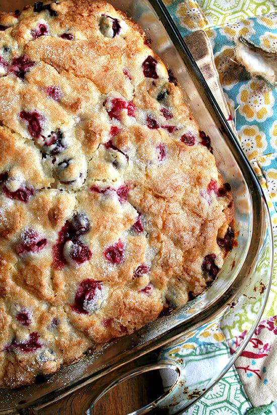 Cranberry & Orange Buttermilk Breakfast Cake