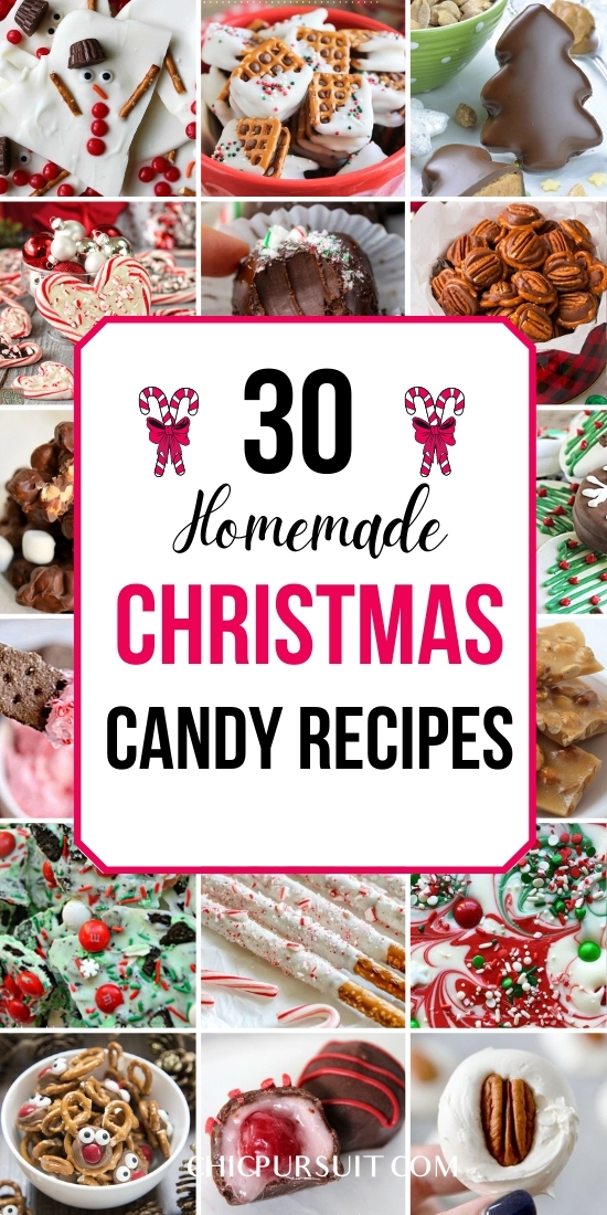 Best creative, fun and easy homemade Christmas candy recipes