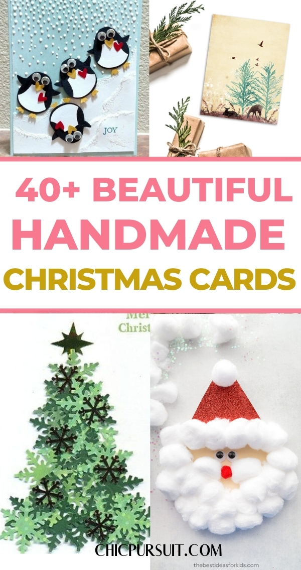 45 Beautiful Handmade Christmas Cards That You Will Love