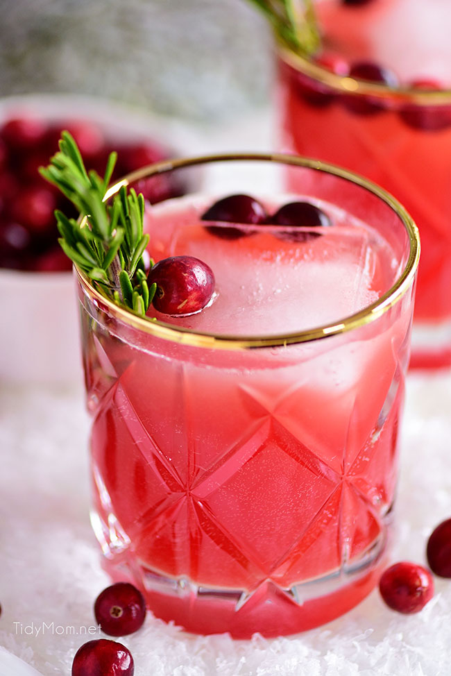 Easy Christmas cocktails: Rudolph's Tipsy Spritzer
