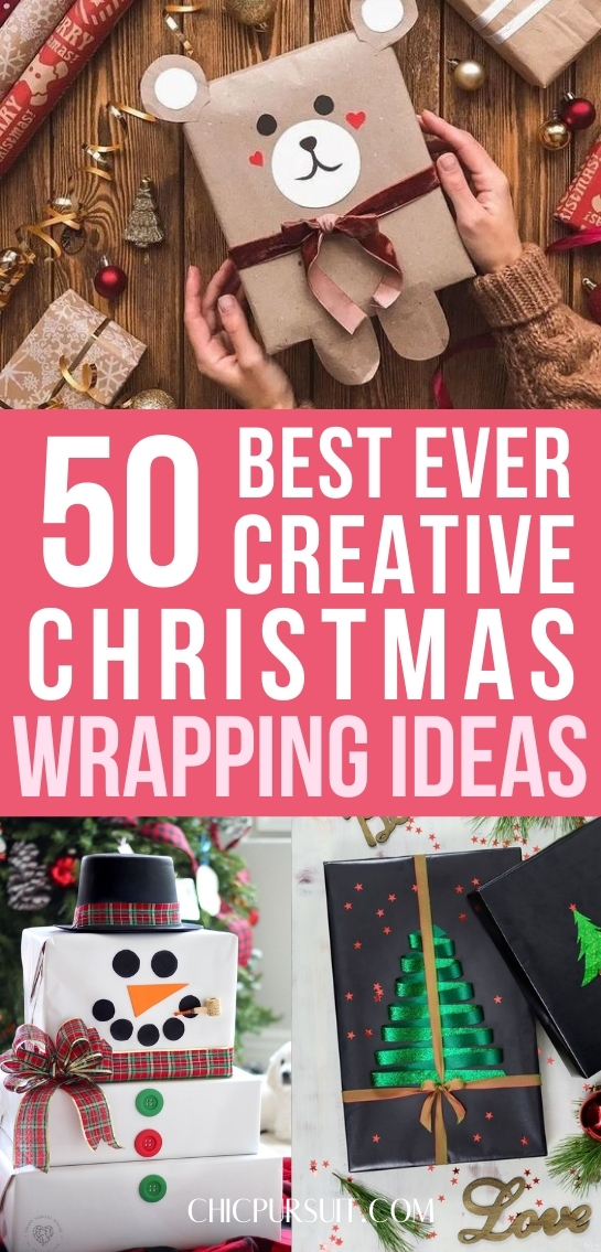50+ Creative & Elegant Christmas Gift Wrapping Ideas To Try
