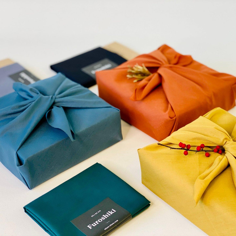 Zero waste Reusable Fabric Christmas gift Wrapping