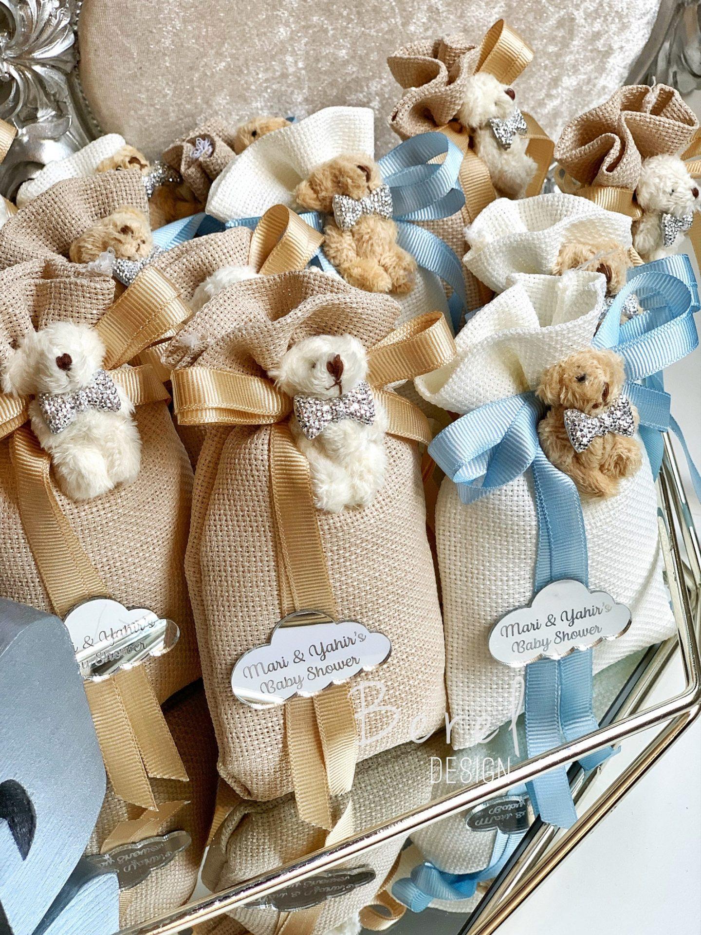 Cute Teddy Bear Christmas gift bags