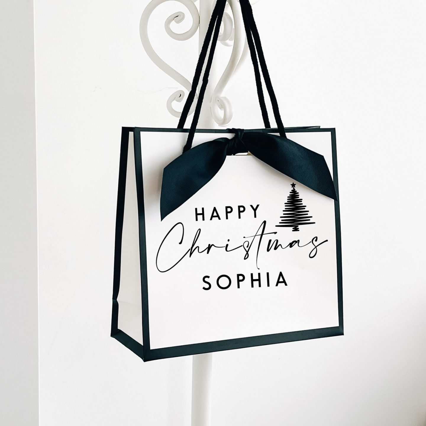 Chanel Inspired personalized Gift Bag