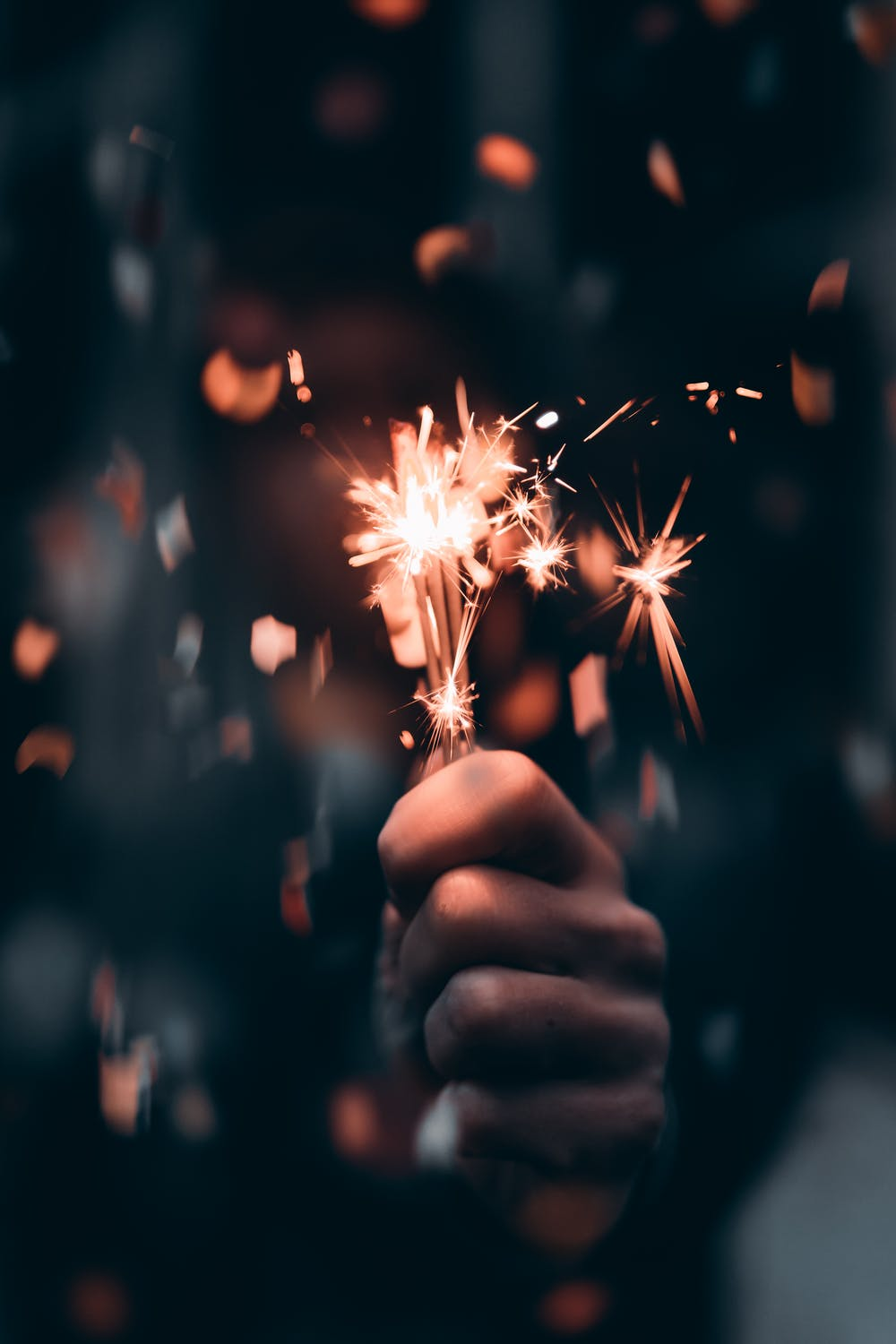 Sparklers wallpaper aesthetic for iphone