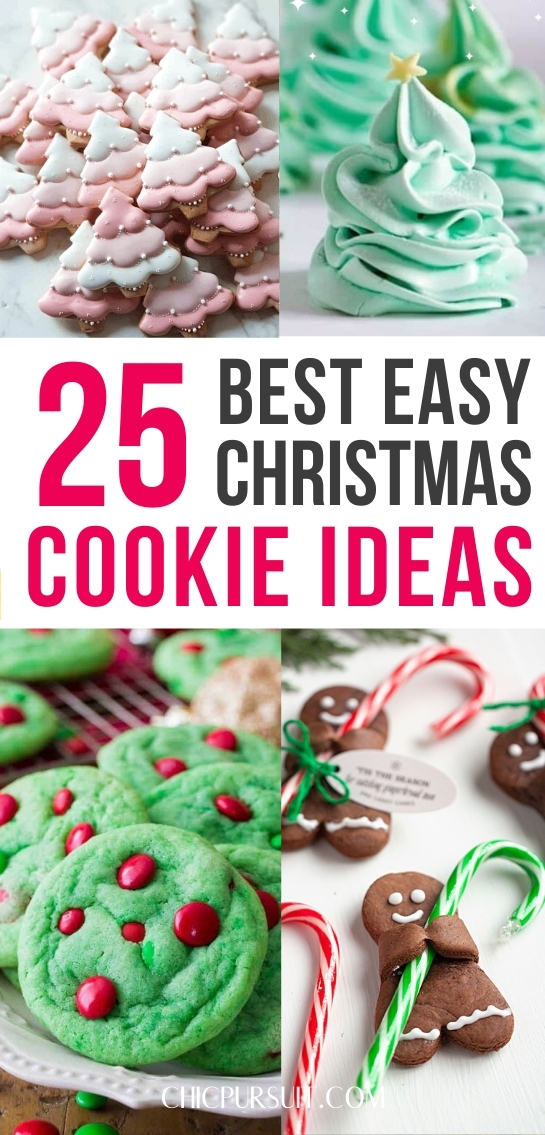 25+ Best Easy Christmas Cookies To Try This Year