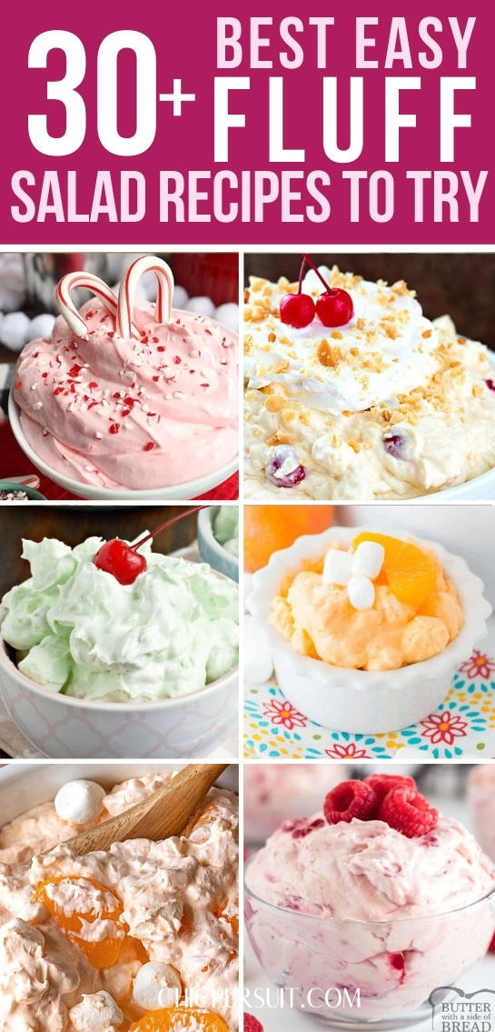 30+ Best Fluff Recipes For A Crowd That You Need To Try