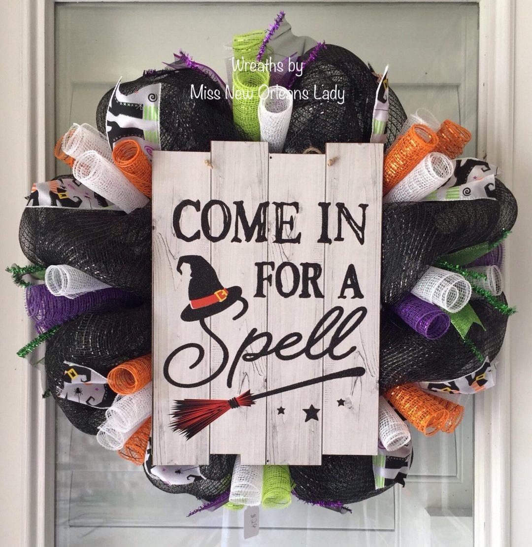 Cute Halloween wreaths