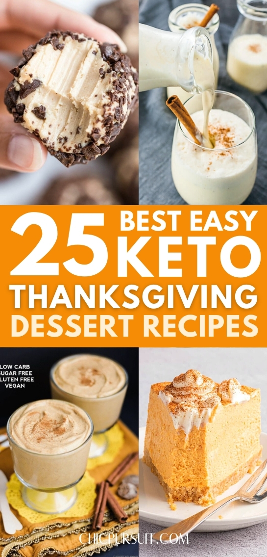 25+ Best Keto Thanksgiving Desserts Recipes Of All Time