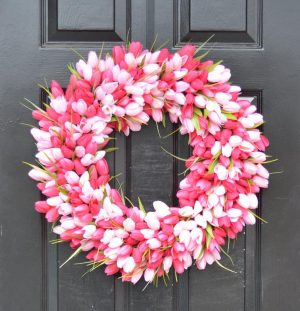 50+ Elegant Spring Wreaths For The Front Door That You Need To See