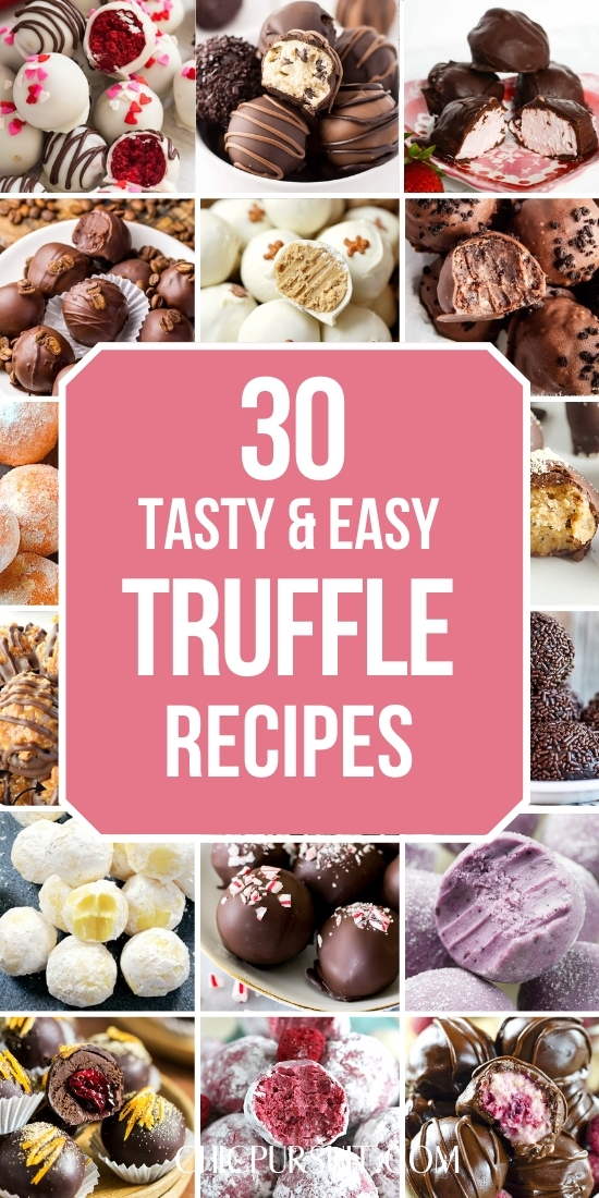 30 Easy Truffle Recipes That Are Perfect For Christmas