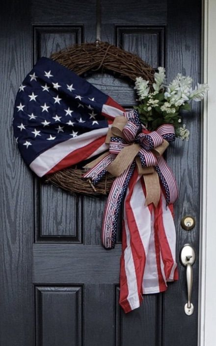 The best 4th of July wreaths and patriotic wreaths