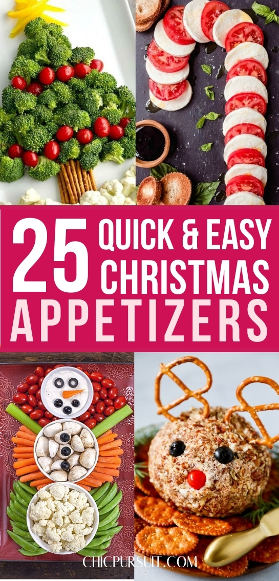 The best quick and easy Christmas appetizers, including cute Christmas appetizers and festive Christmas appetizers