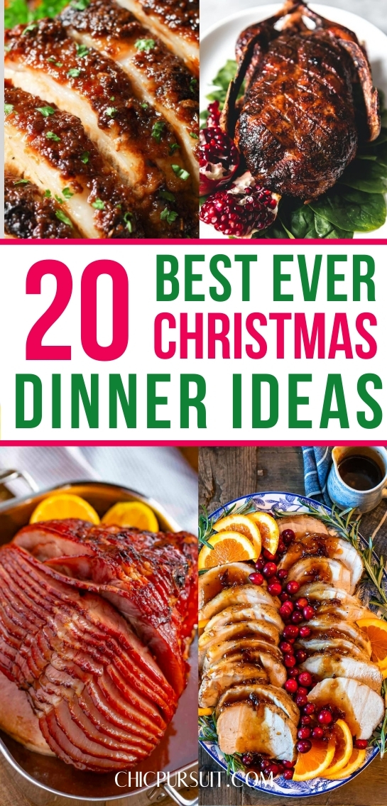 20 Super Easy Christmas Dinner Ideas That Will Melt In Your Mouth