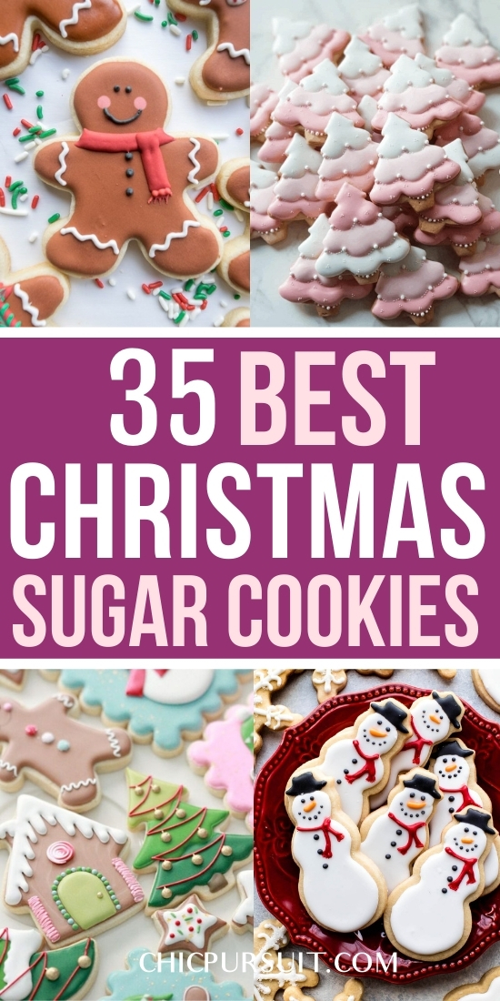 35 Cute Decorated Christmas Sugar Cookies That You Need To See