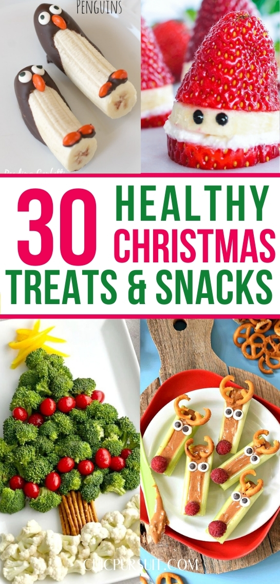 The best cute and healthy Christmas treats and snacks for kids, crowds and parties