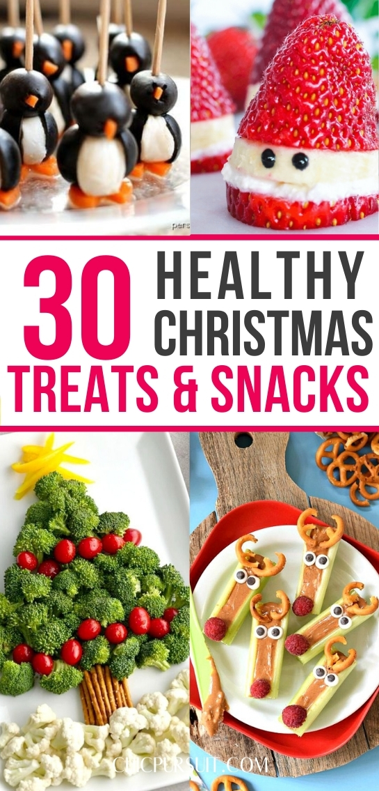 30 Best Healthy Christmas Treats Perfect For Kids & Parties