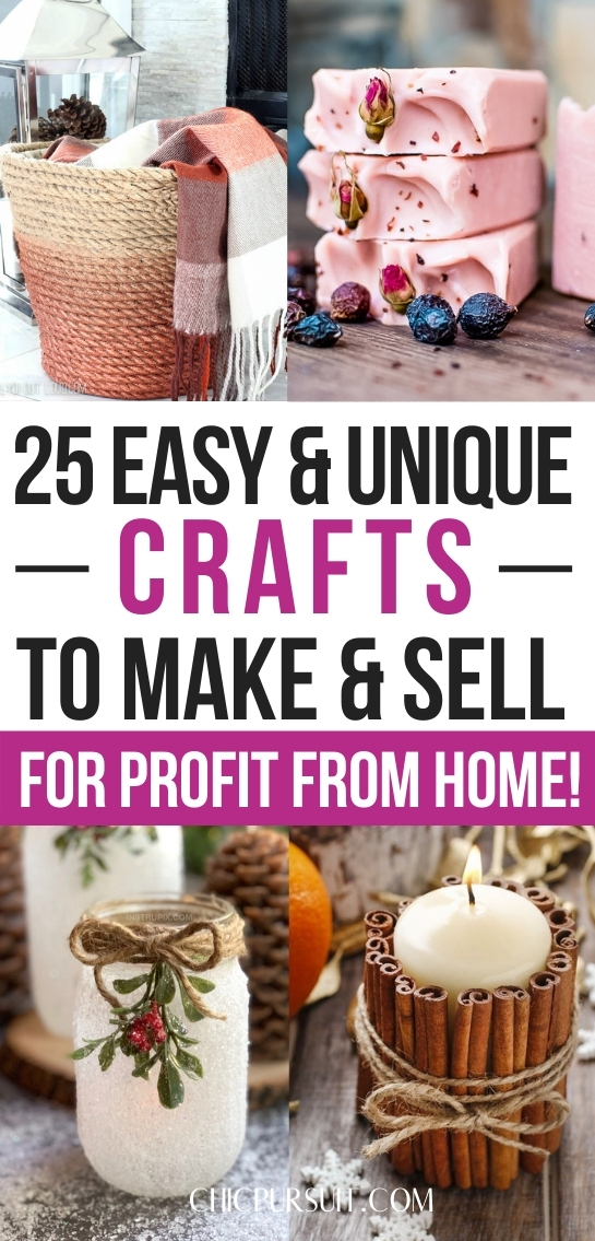The best easy and unique crafts to make and sell, crafts to sell on Etsy