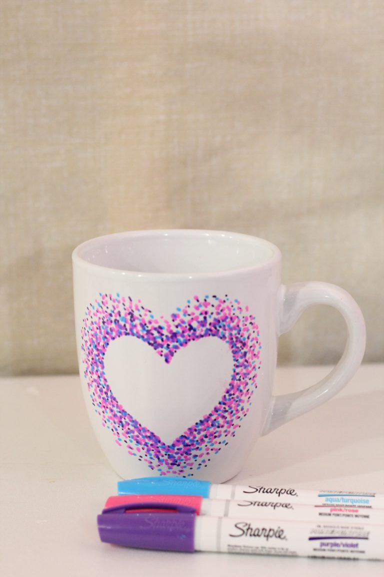 DIY Sharpie Mug Craft For Adults