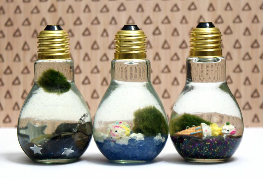 Light Bulb Aquarium Craft