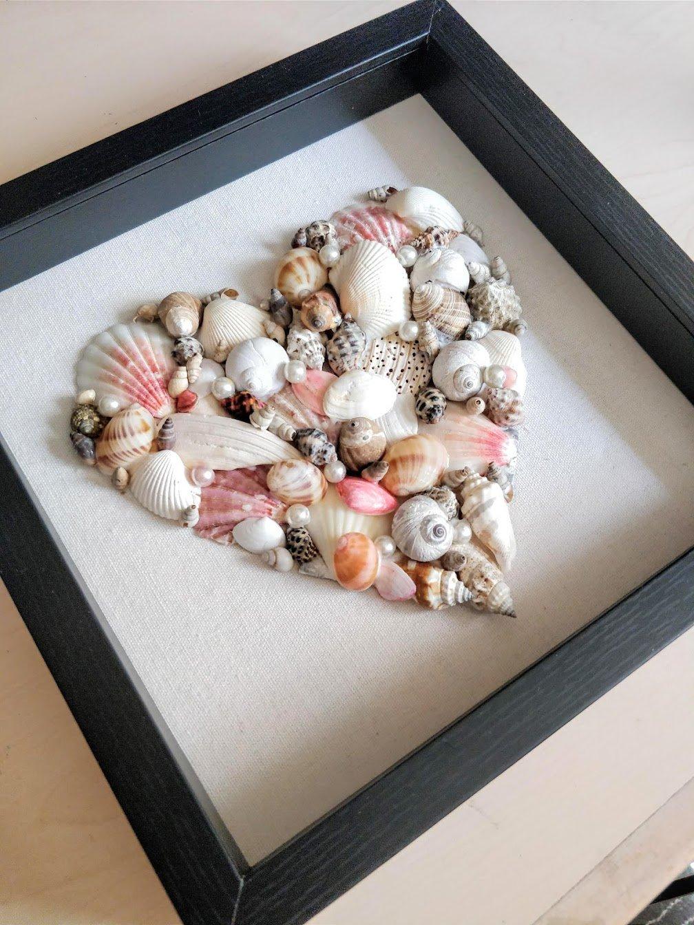 Seashell Art Piece Craft