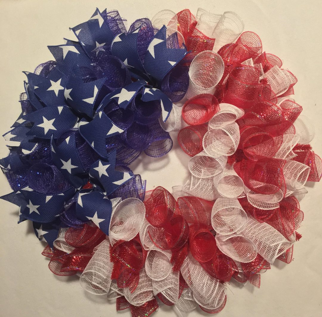 The best deco mesh 4th of July wreaths and deco mesh patriotic wreaths