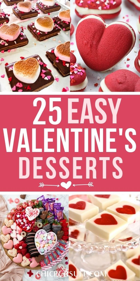 25+ Cute & Easy Valentine's Desserts And Treats To Melt Your Heart