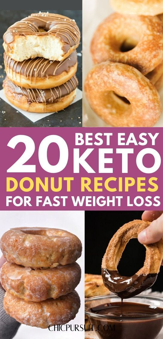 The best easy keto donut recipe ideas that are low carb and perfect for weight loss