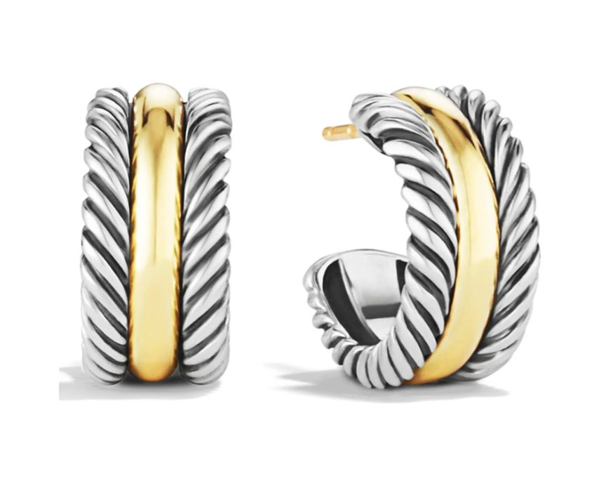 Best luxury gifts for the woman who has everything: David Yurman earrings