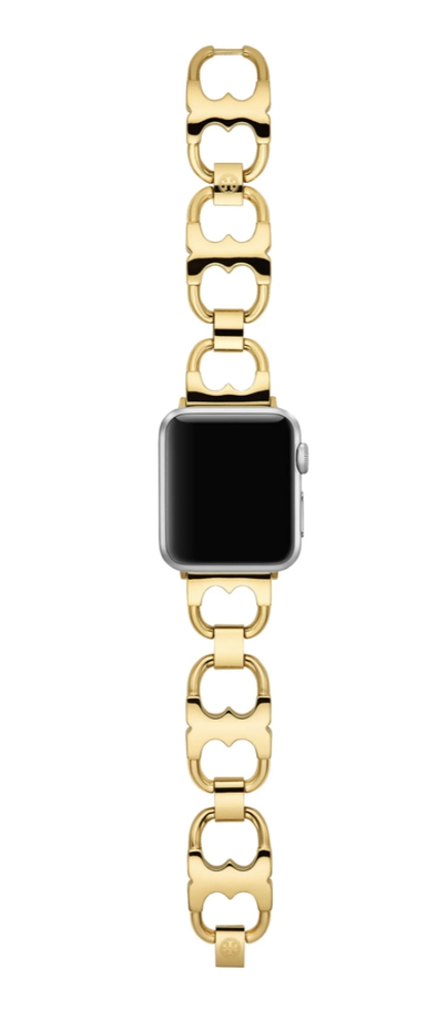 Best luxury gifts for the woman who has everything: Gold Apple watch straps