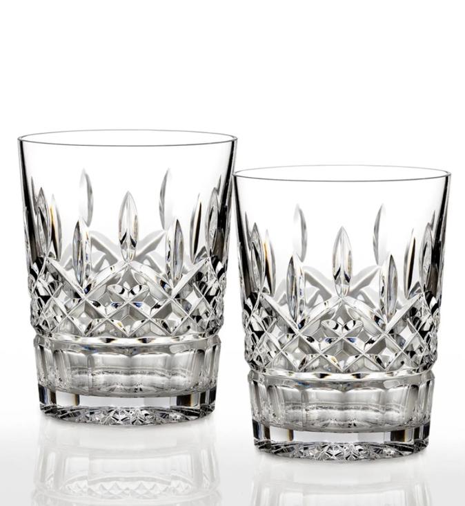 Luxury gift ideas for your boss: elegant glassware