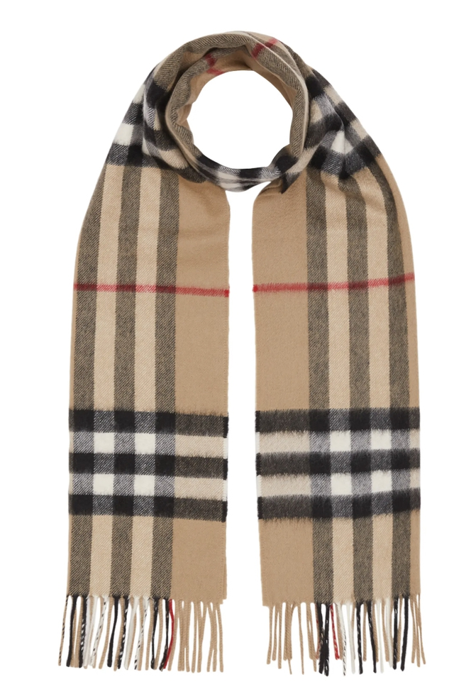The best expensive gifts for female boss: Burberry scarf